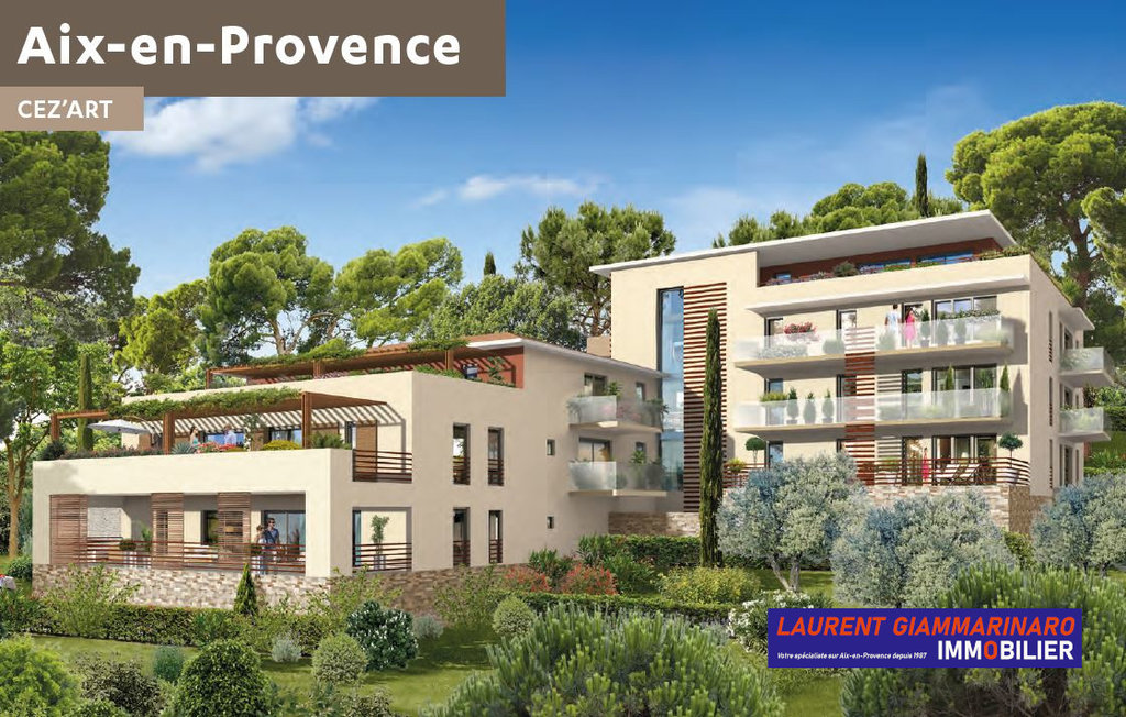 AIX-EN-PROVENCE NEUF Quartier Beauregard Résidence Céz'Art Type 3 69,64 M²