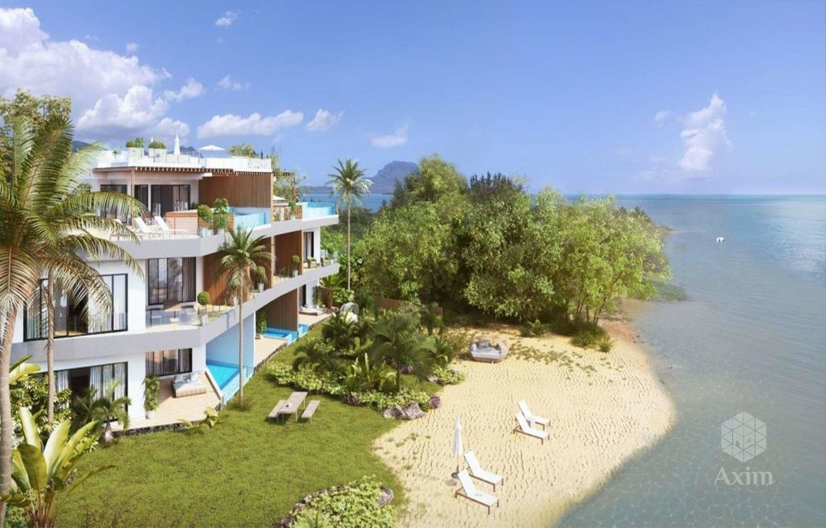 Mauritius- Pragram of 7 luxury apartments on an island
