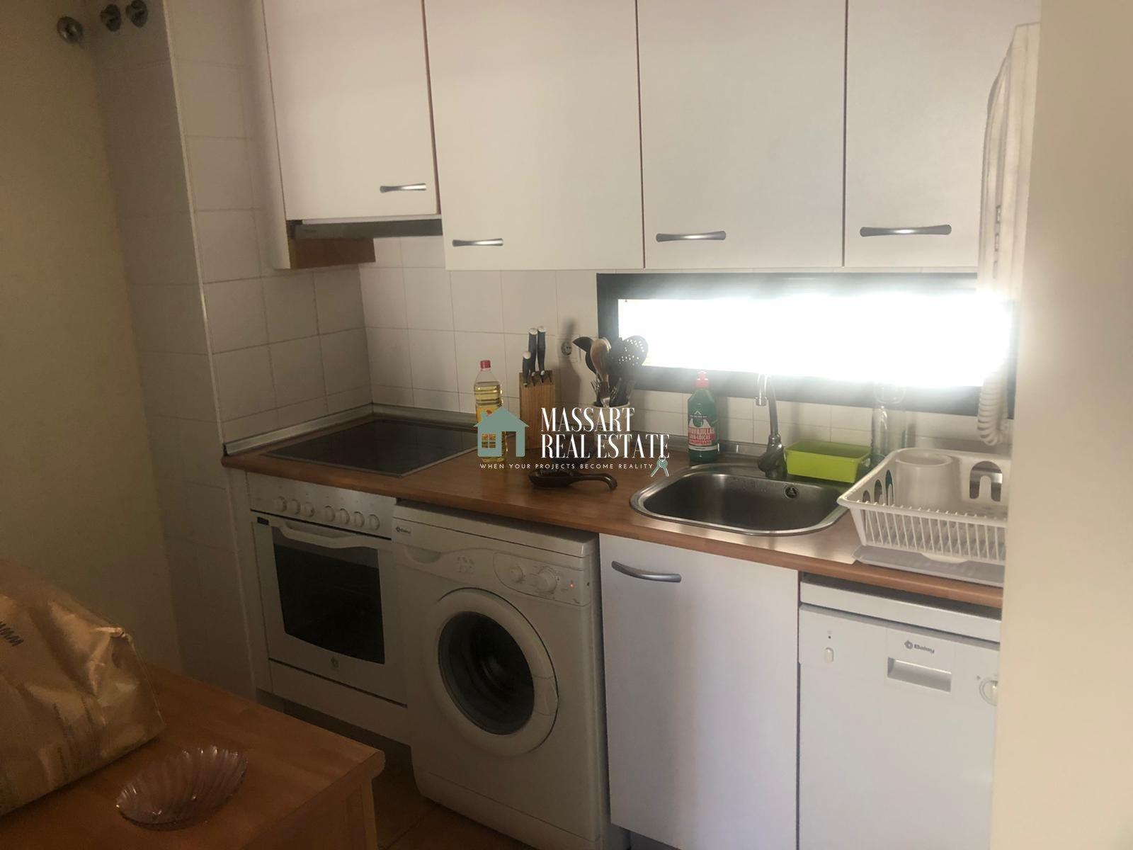 Zu vermieten in Playa Paraíso, in der Wohnanlage Paraíso I, voll möblierte 60 m2 große Wohnung.
