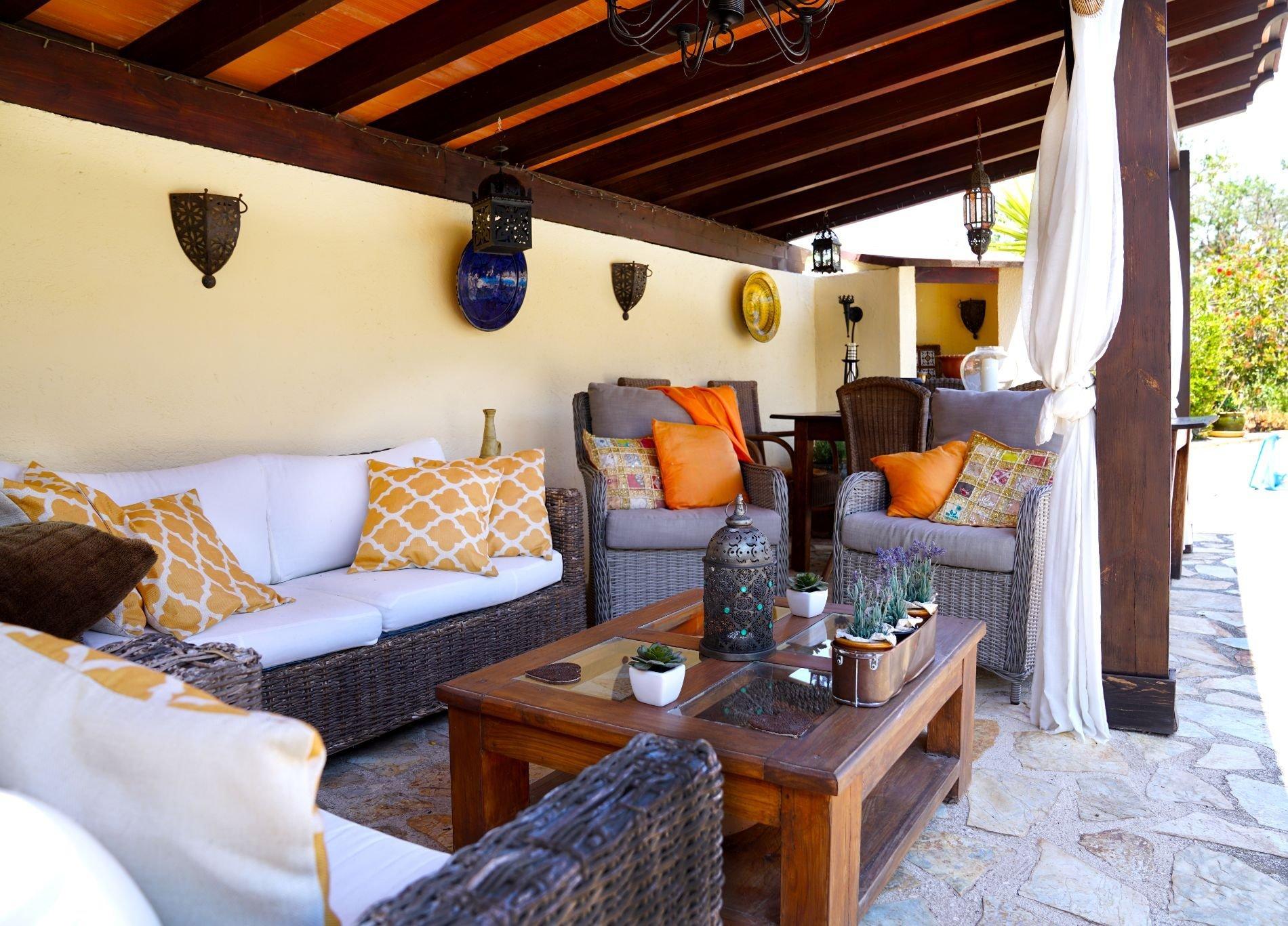 Modern finca in an idyllic setting
