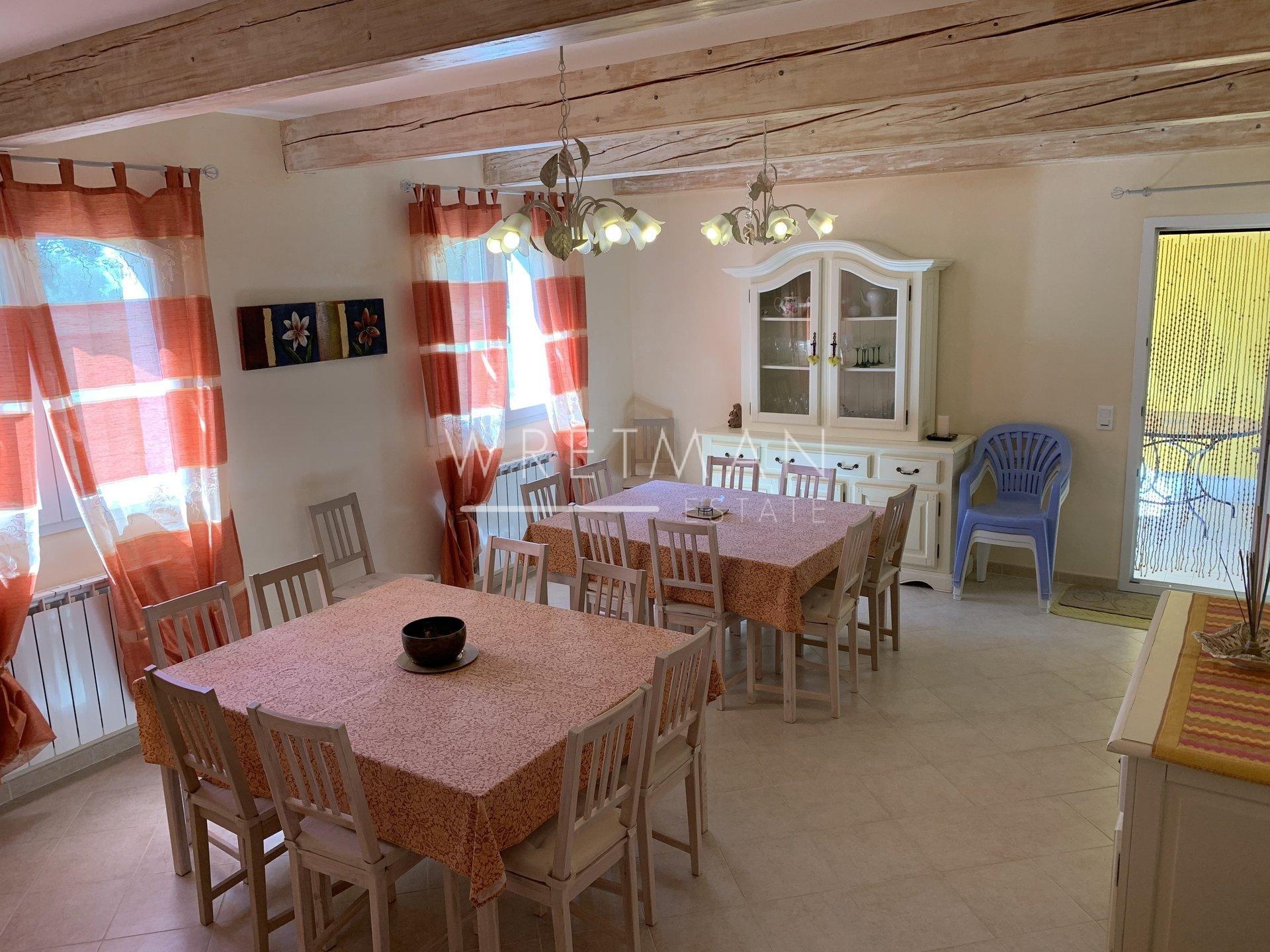 Villa med 2 lägenheter (11 sovrum) - Seillans