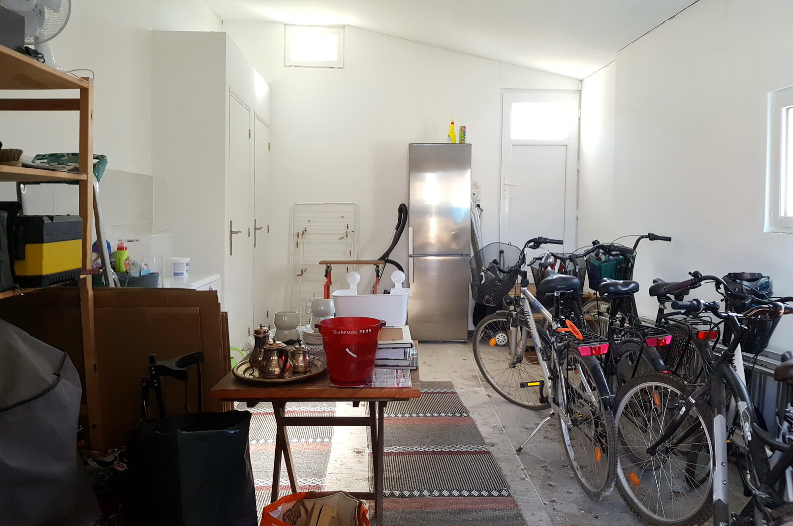 Garage/tvättstuga