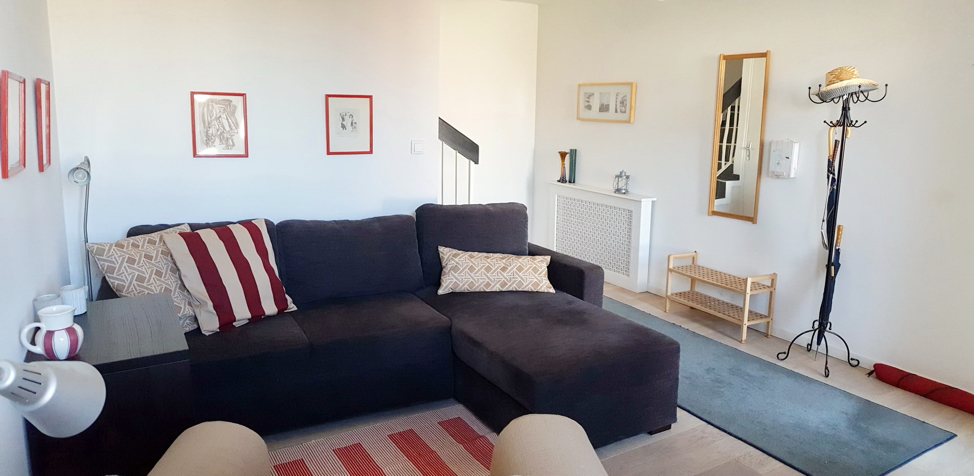 Villa med 3 separata lägenheter samt garage