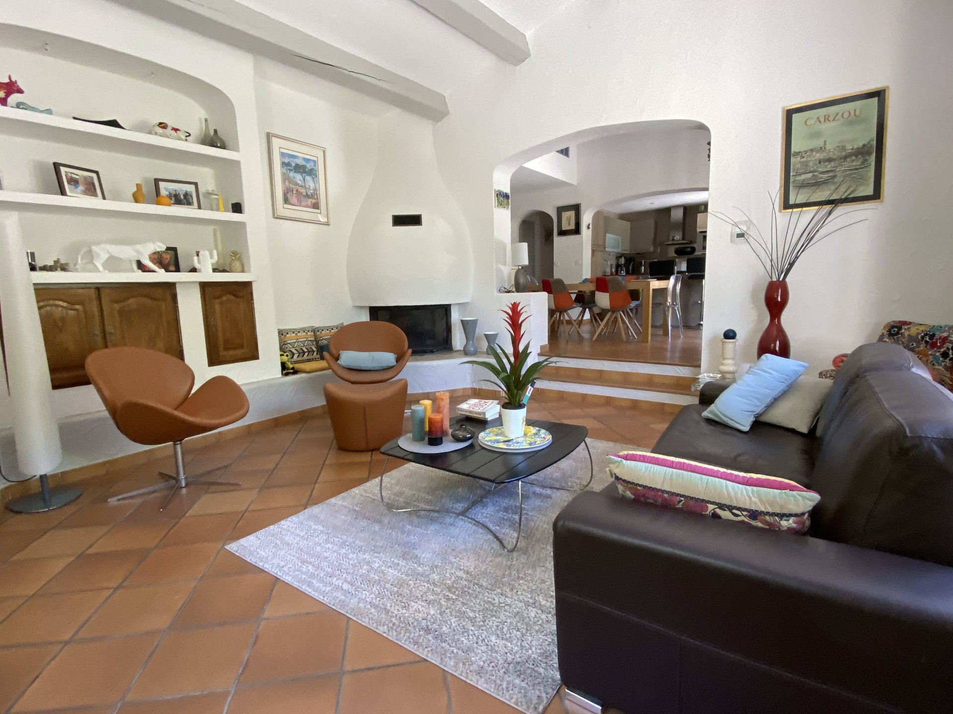 SALE MOUANS SARTOUX 5 ROOM VILLA ON FLAT GROUND WITH POOL