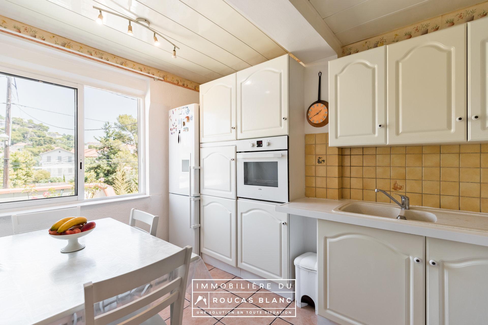 Maison - Coeur Roucas - Garage - Terrasses - Calme absolu