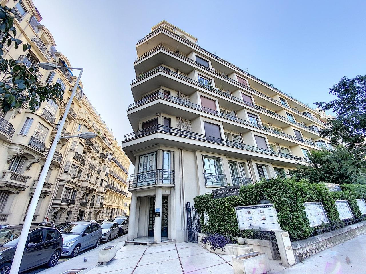 SALE Apartment 3 Room Nice Victor Hugo Balcony Superb!