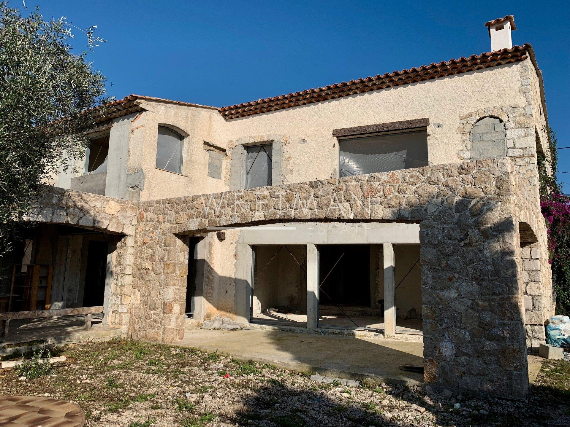 Villa to finish with pool - Villefranche-sur-Mer
