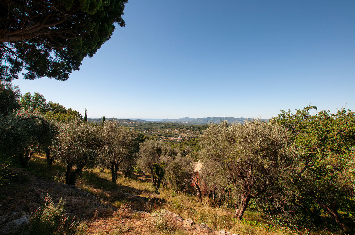 For sale Chateauneuf Grasse - Building Land with Panoramic Views