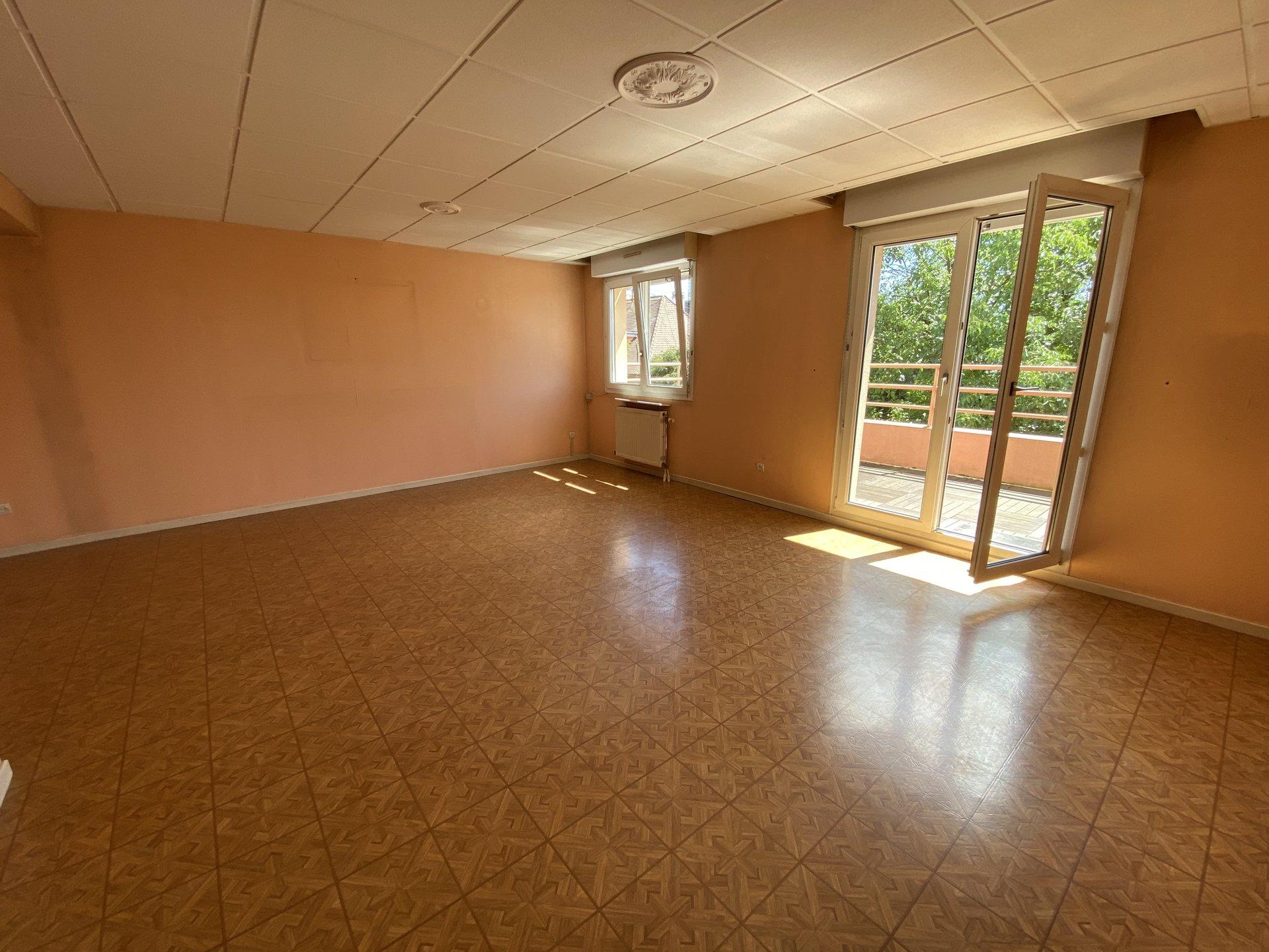 Lingolsheim- Appartement 2 pièces à Rénover