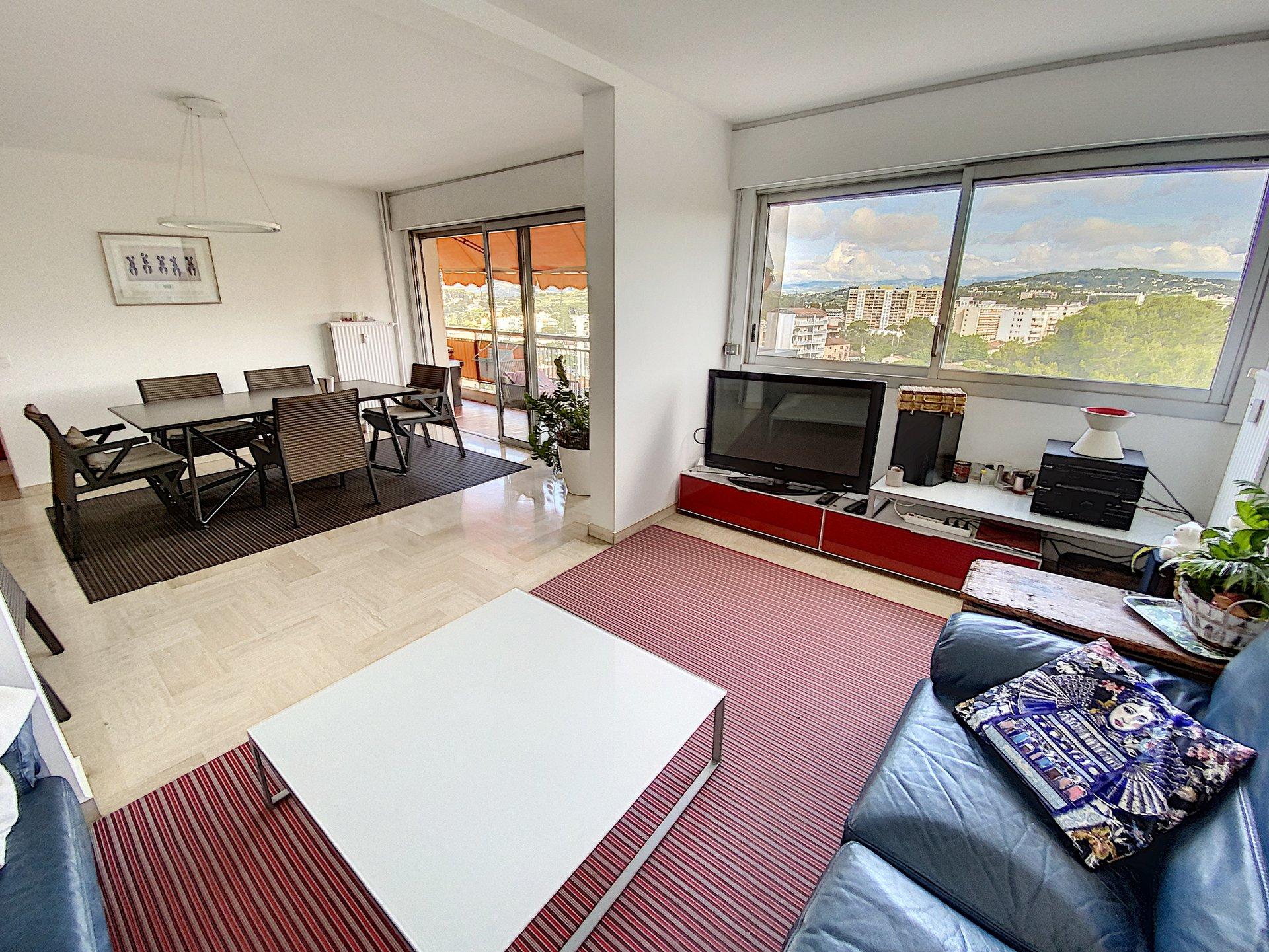 Le Cannet Pinèdes- 3-4 rooms clear view