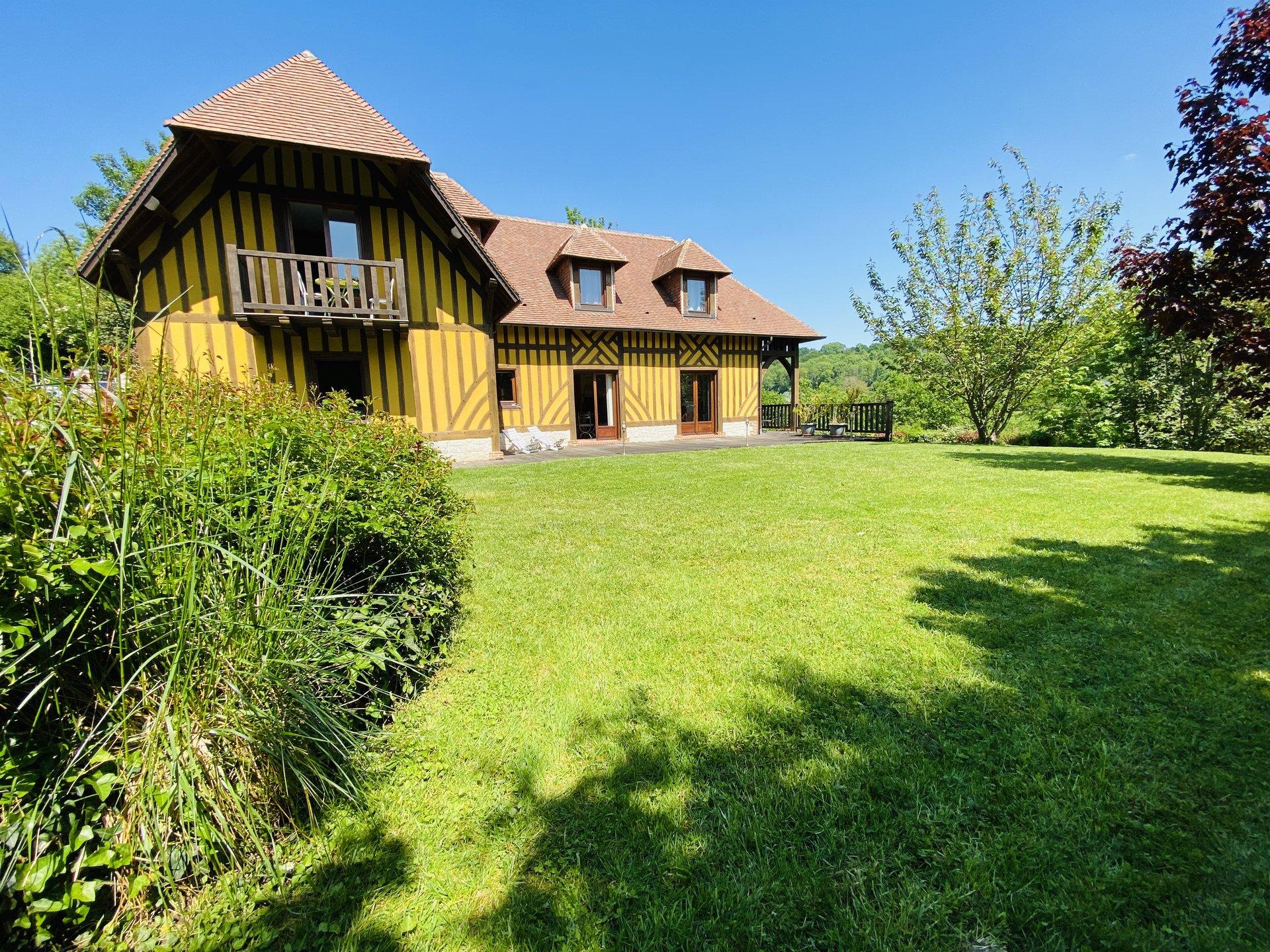 Vente Maison avec jardin - 6 pièces - 4 chambres - 14600 Honfleur