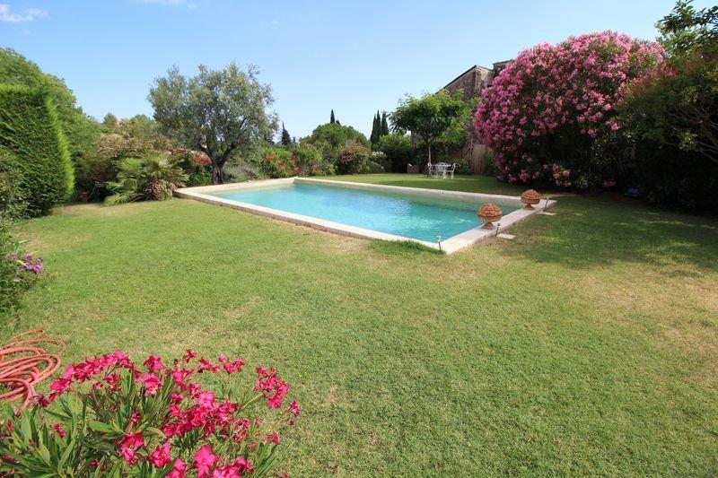 Cotignac house village garden pool
