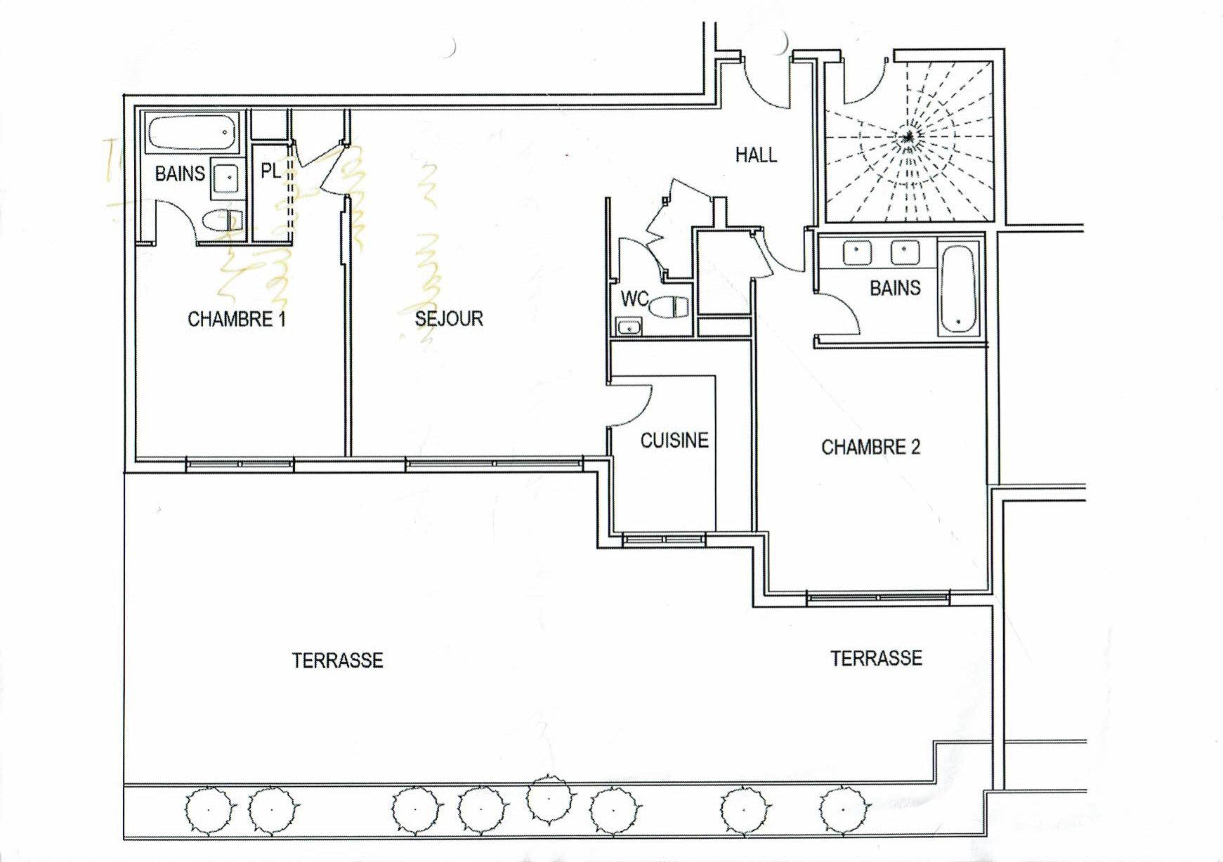 Korttidsuthyrning Lägenhet - Le Cannet