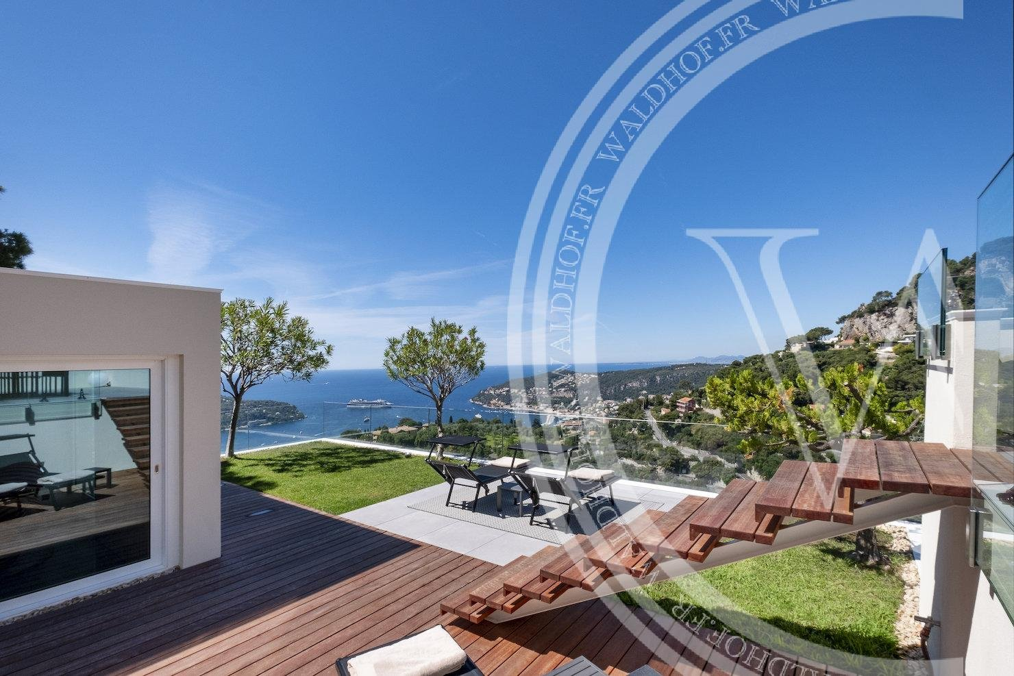 Seasonal rental Villa - Villefranche-sur-Mer Basse Corniche