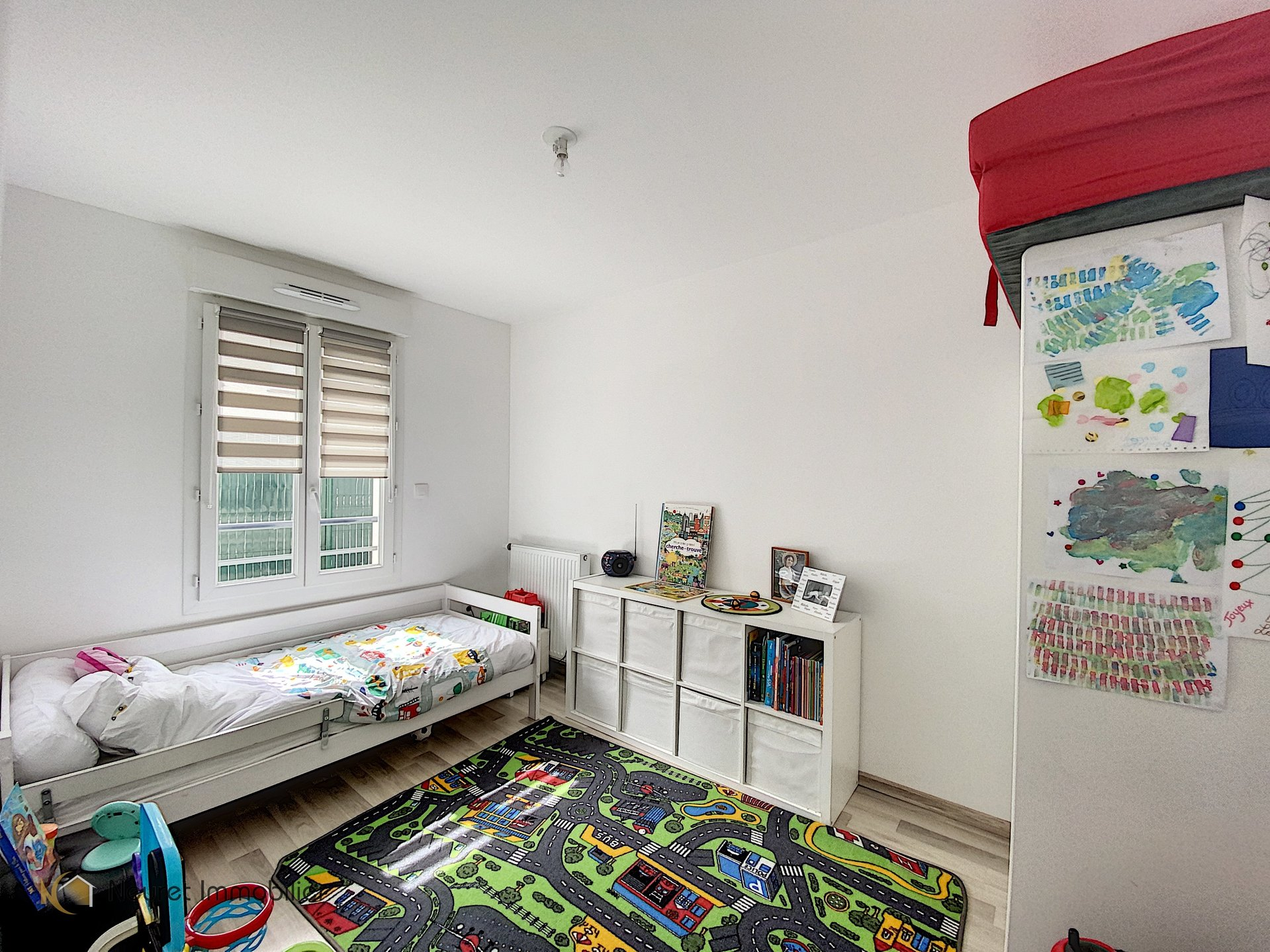 Appartement T3 avec jardin de 50 m²