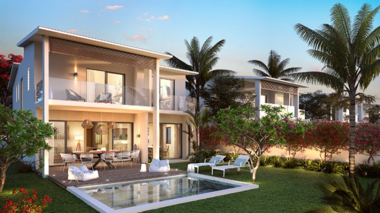 VILLAS CONTEMPORAINE A CAP TAMARIN