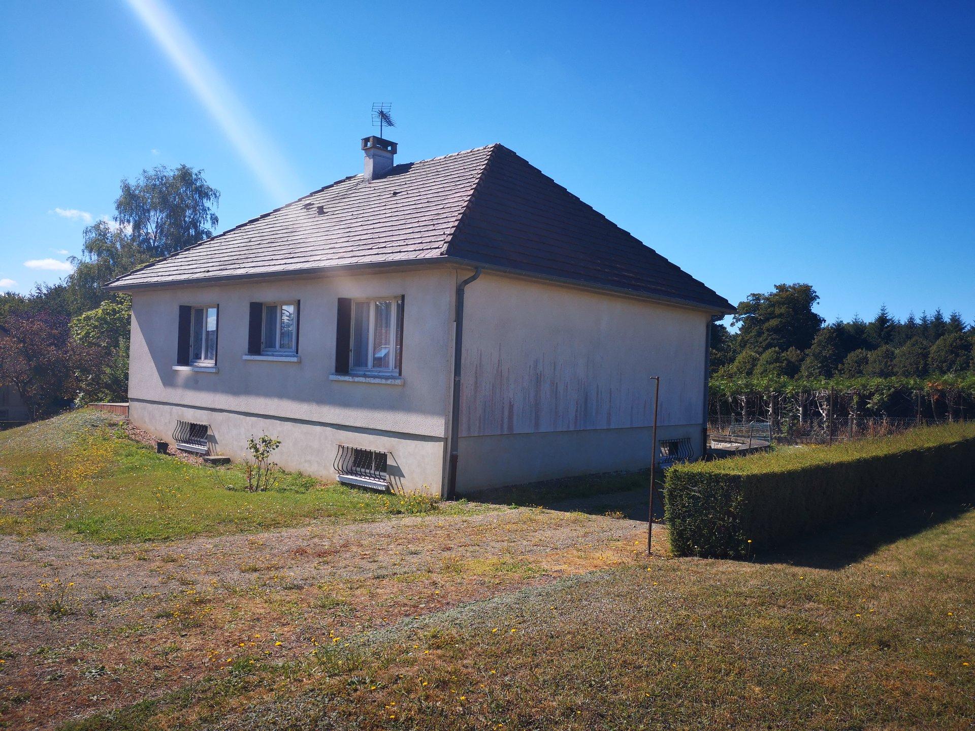 Pavillon de 78m² sur s/sol  proche Forêt Perseigne