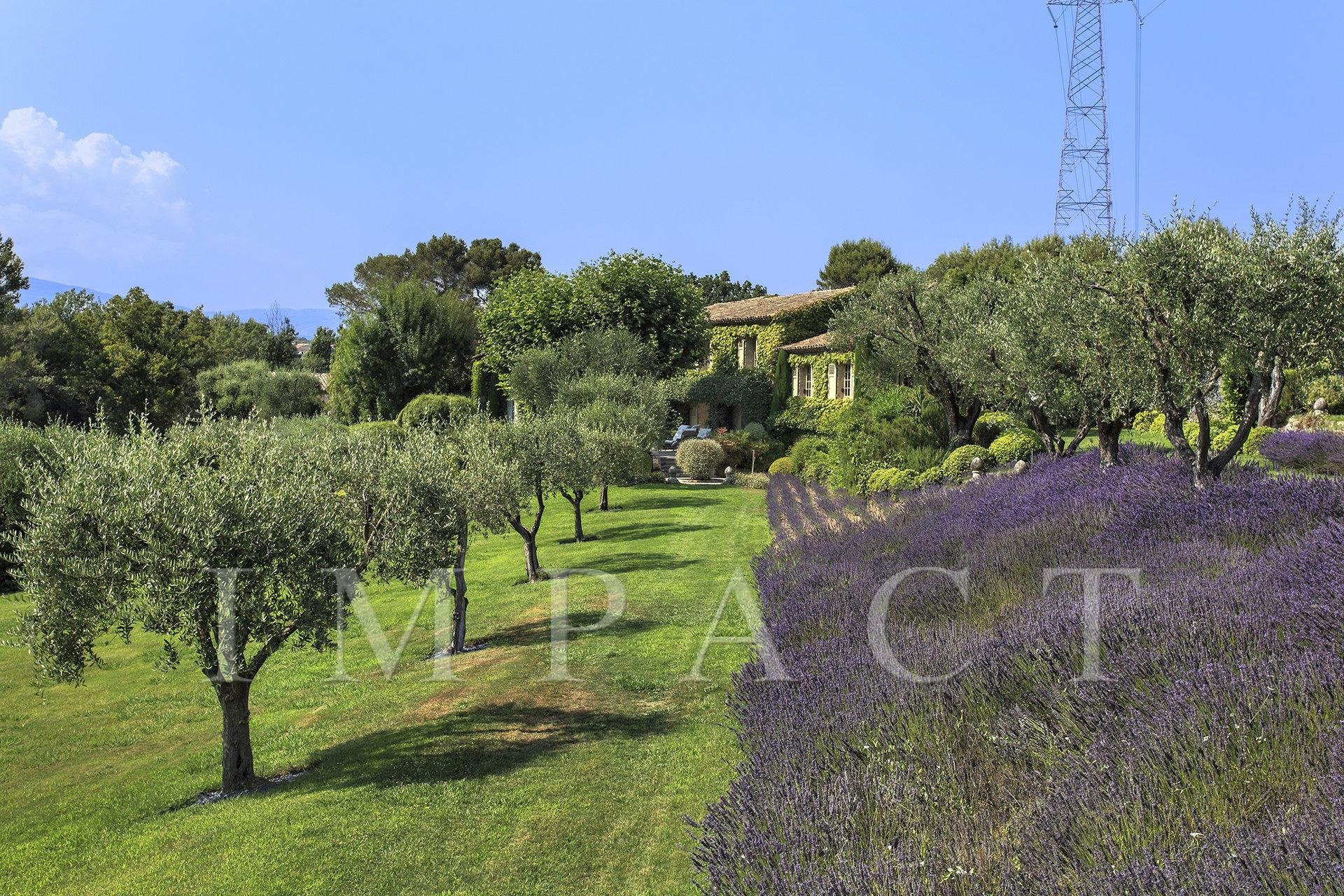 Mas Provencal in Mougins for rent