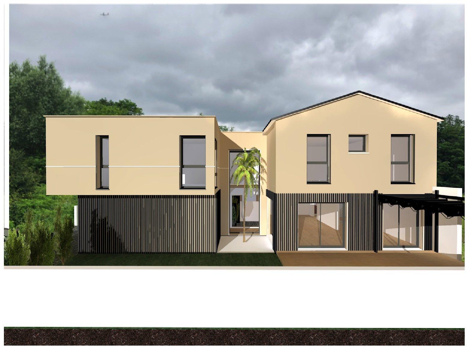 Côte Pavée, Maison de 180 m² avec piscine et Garage.