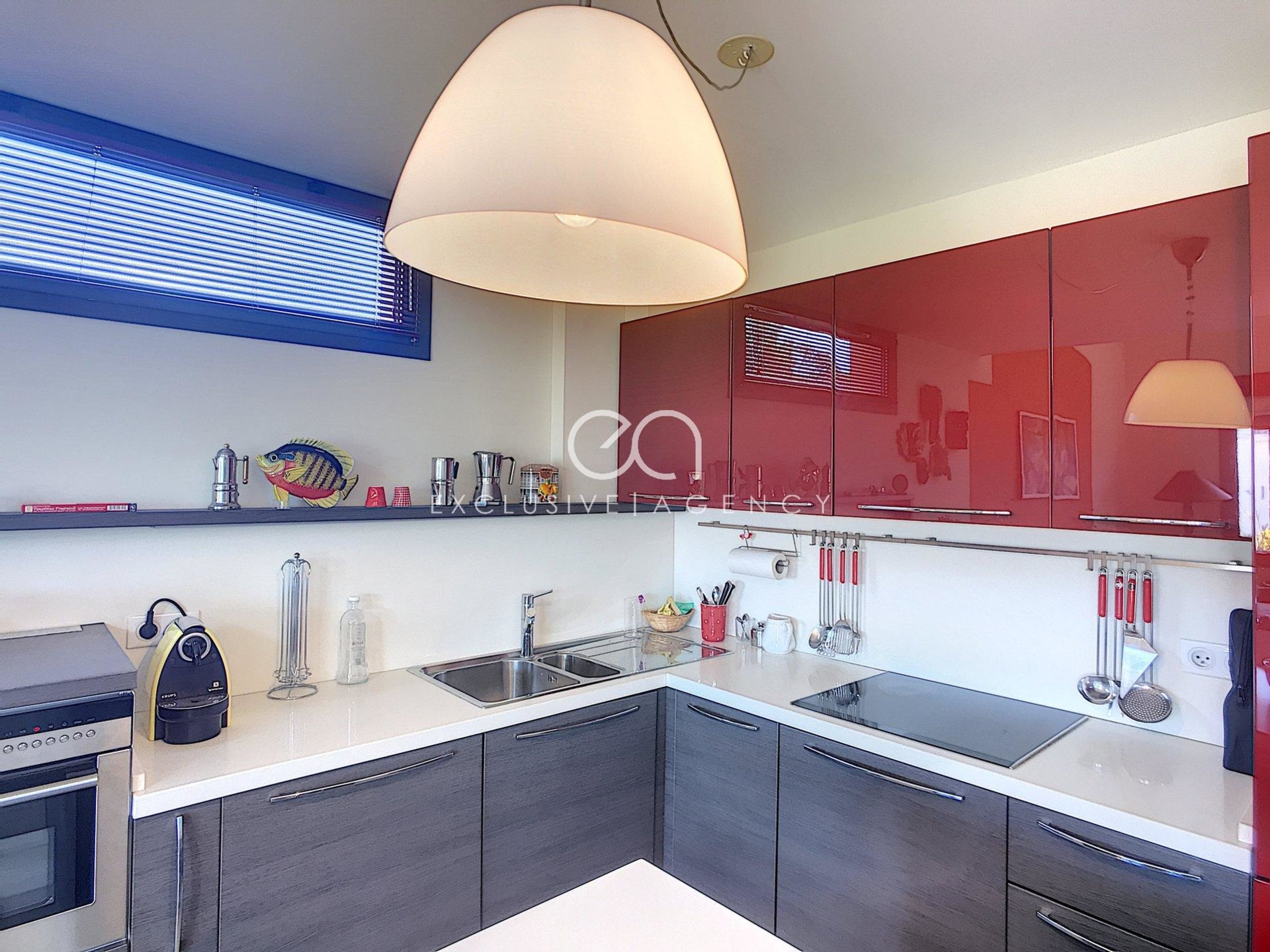 CANNES MONTFLEURY - 4 ROOMS IN DUPLEX - STANDING RESIDENCE