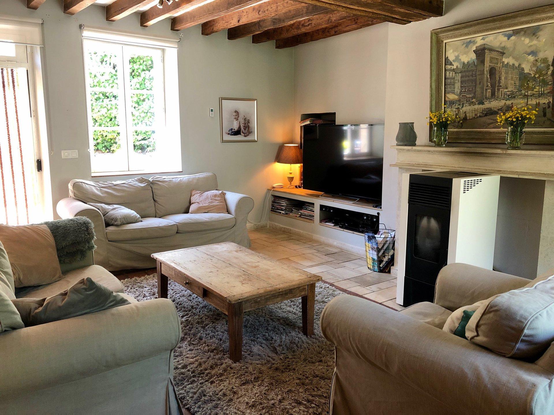 Bourgogne - Saint Sauveur - Lainsecq - À 2H15 de PARIS - Maison bourgeoise - Parc 2600 M2 - Piscine  - Cadre bucolique