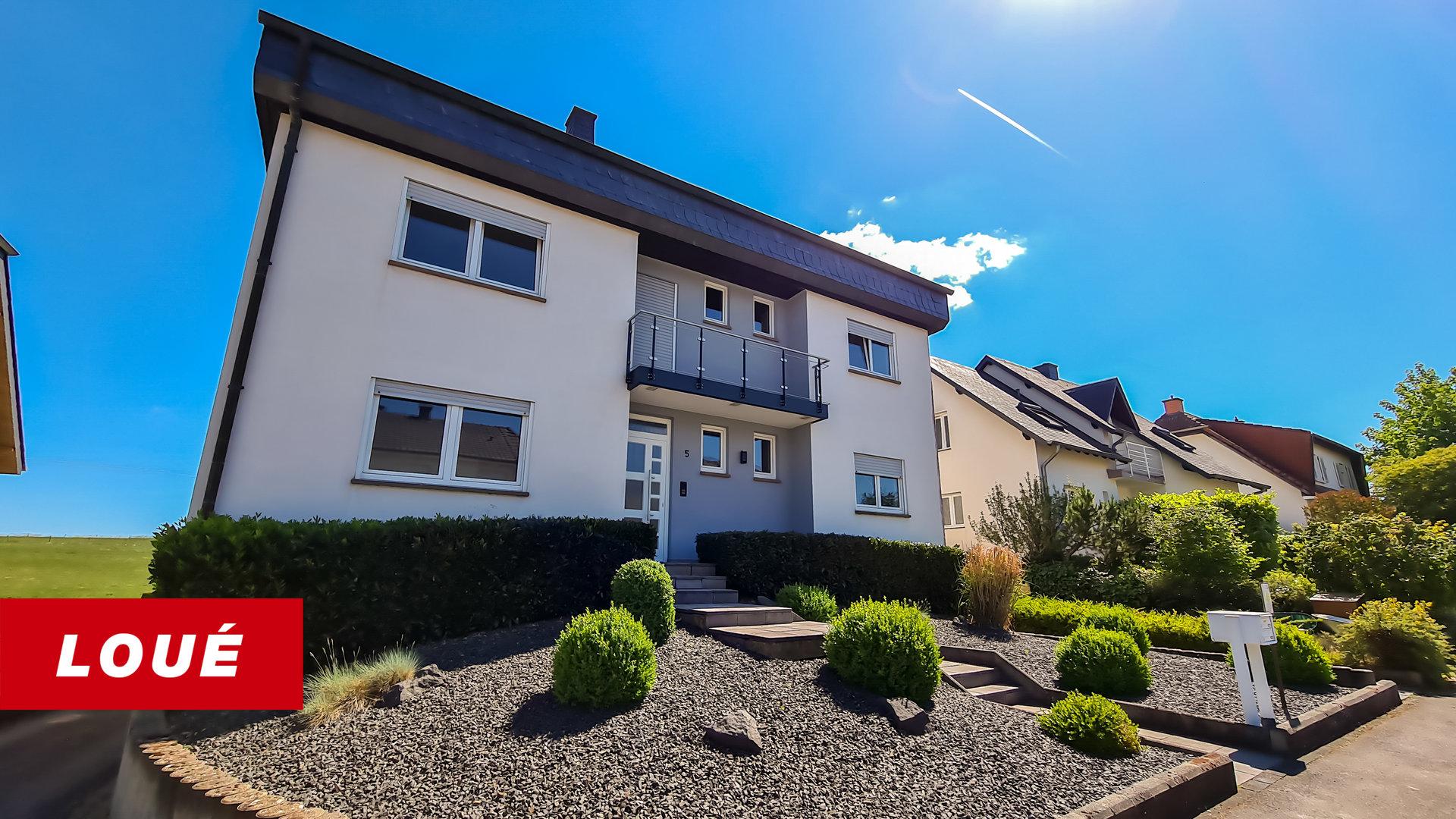 RENTED - appartment with 3 bedrooms in Gonderange