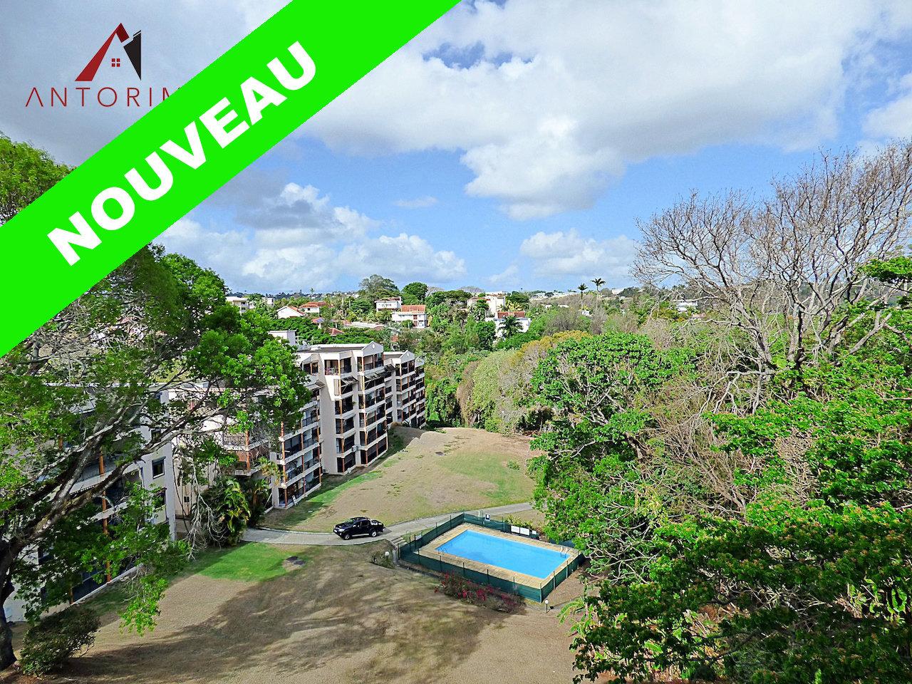 FORT-DE-FRANCE - DIDIER : Beau T3 dans résidence avec parc et piscine