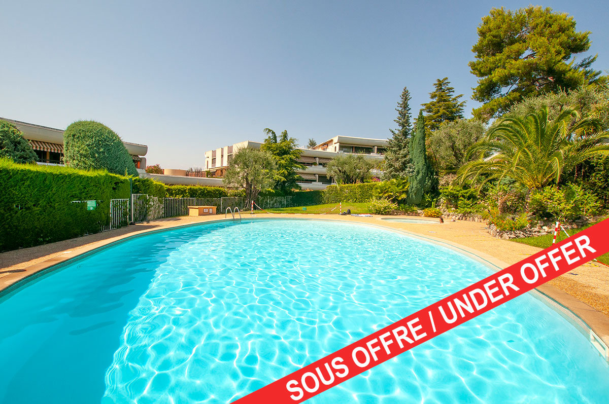 Apartment for Sale Le Cannet/Cannes - 2 bedrooms 2km from Cannes center