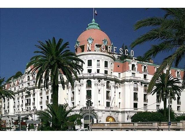 蔚蓝海岸尼斯著名酒店的私人公寓RésidenceNégresco-2卧1卫,可看海景