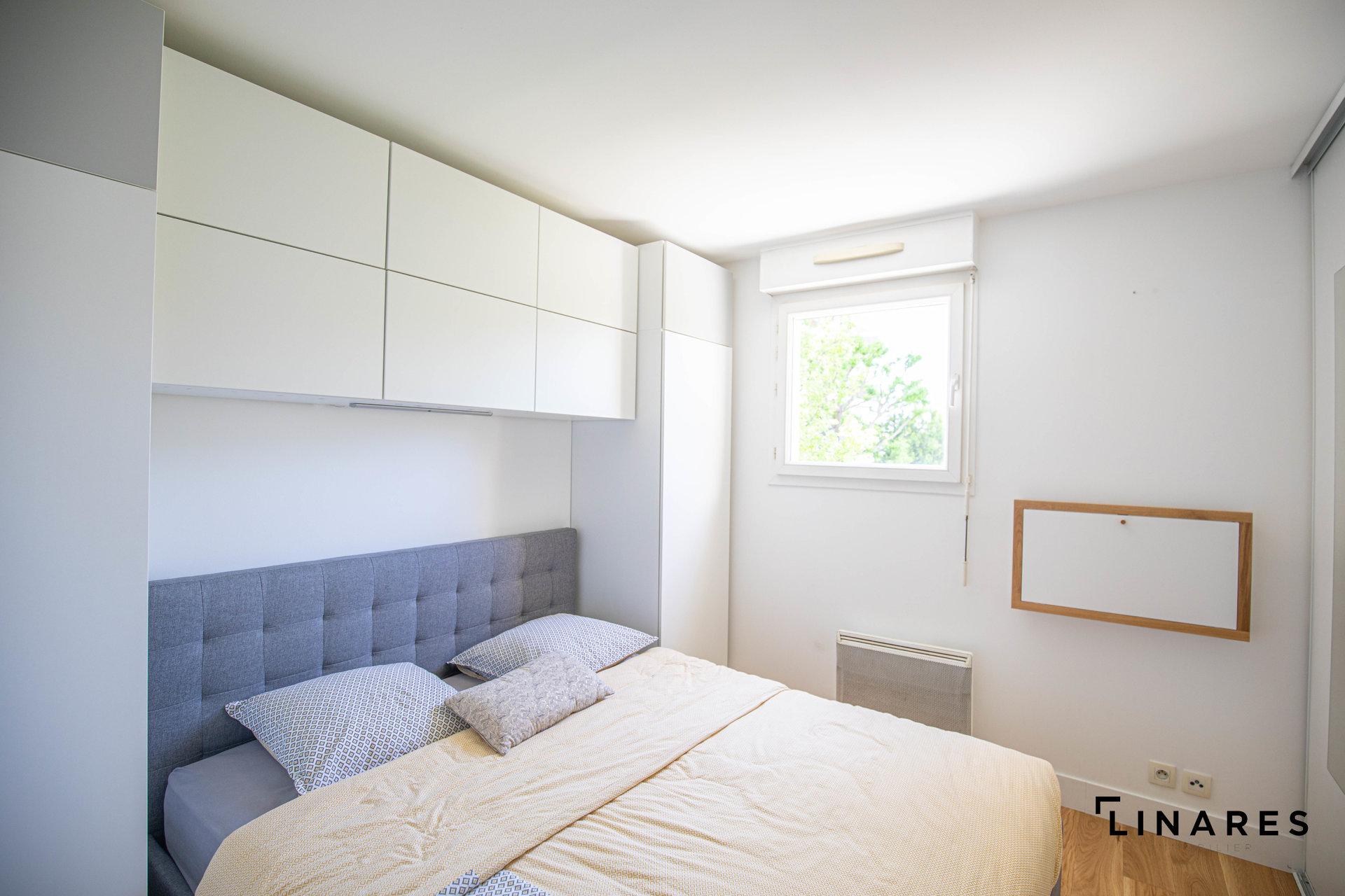 LA PERLE DU 9eme Appartement de type 2 de 46m2 avec terrasse et parking
