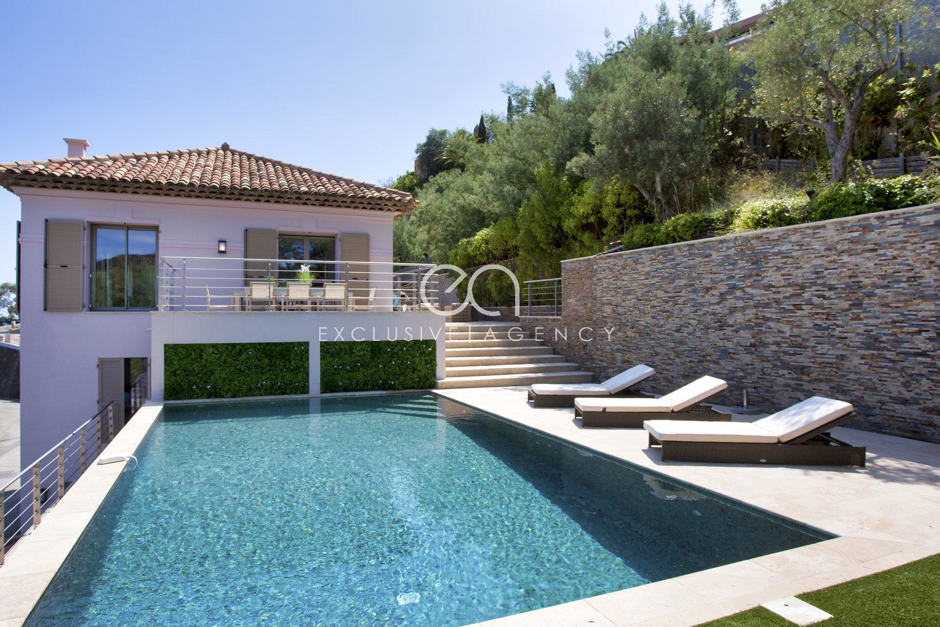 THEOULE SUR MER 250 SQM VILLA 800 SQM LAND WITH POOL