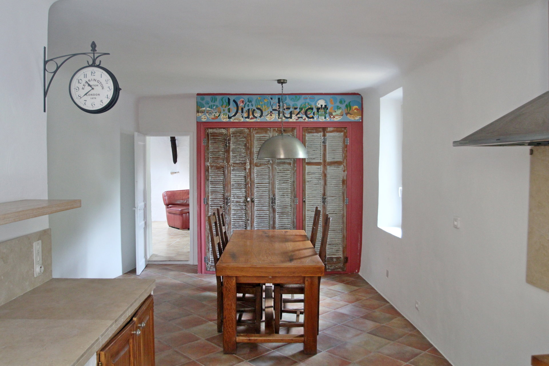 Fayence: villagehouse with small terrace