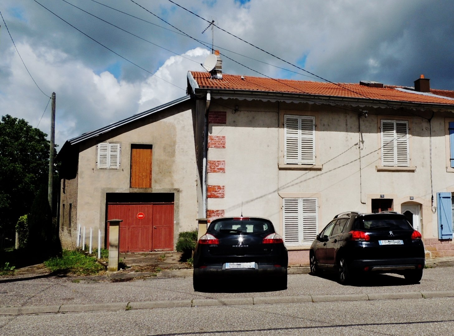 Grande maison avec terrain