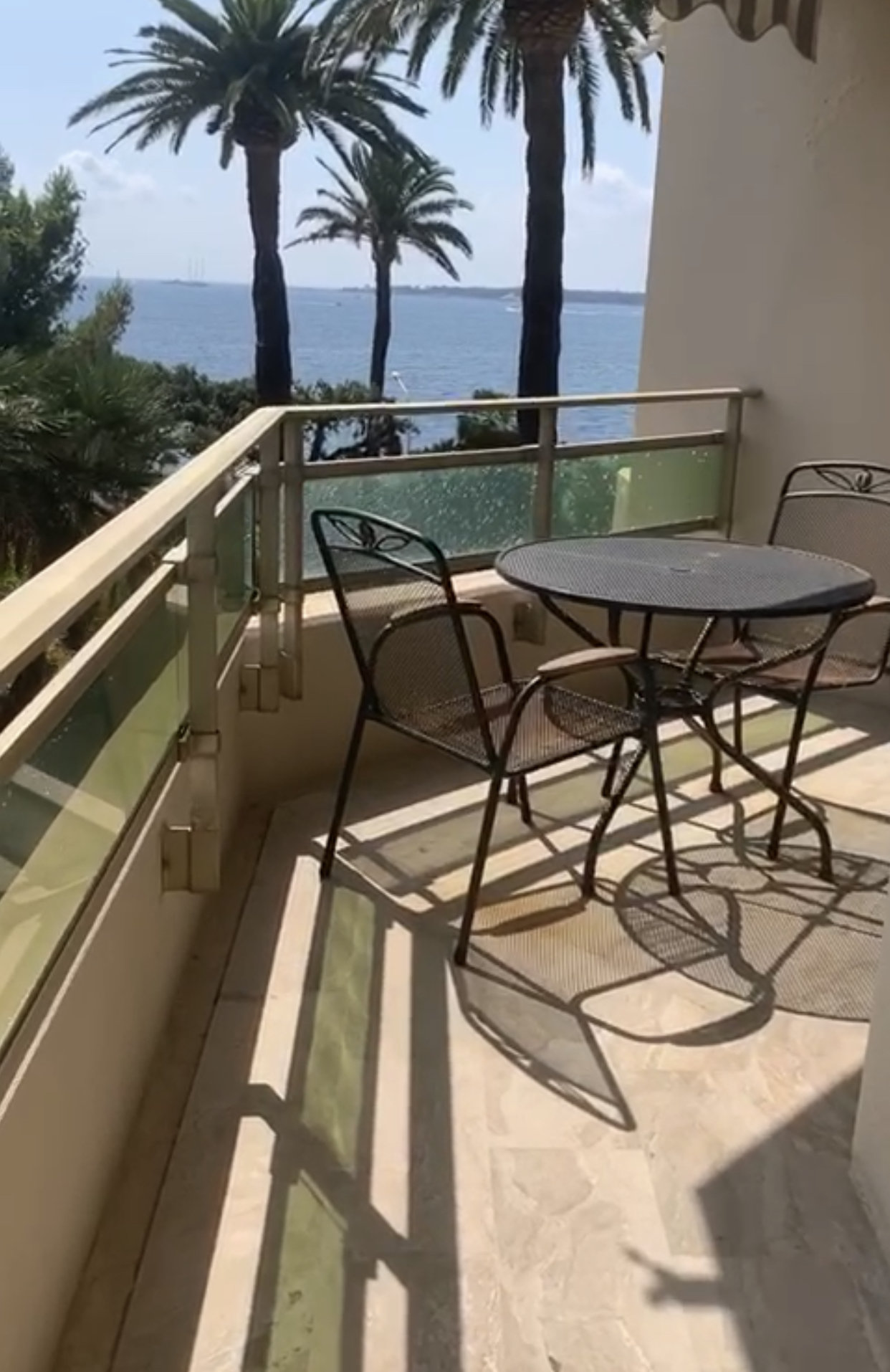 Palm Beach 2P Vue Mer Terrasse Parking Piscine