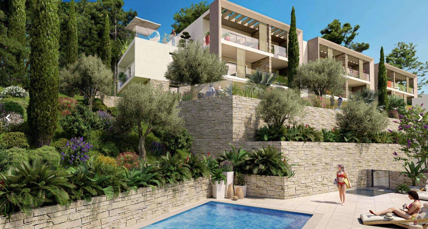 EZE Village - 1 bed Apartment - Swimming pool