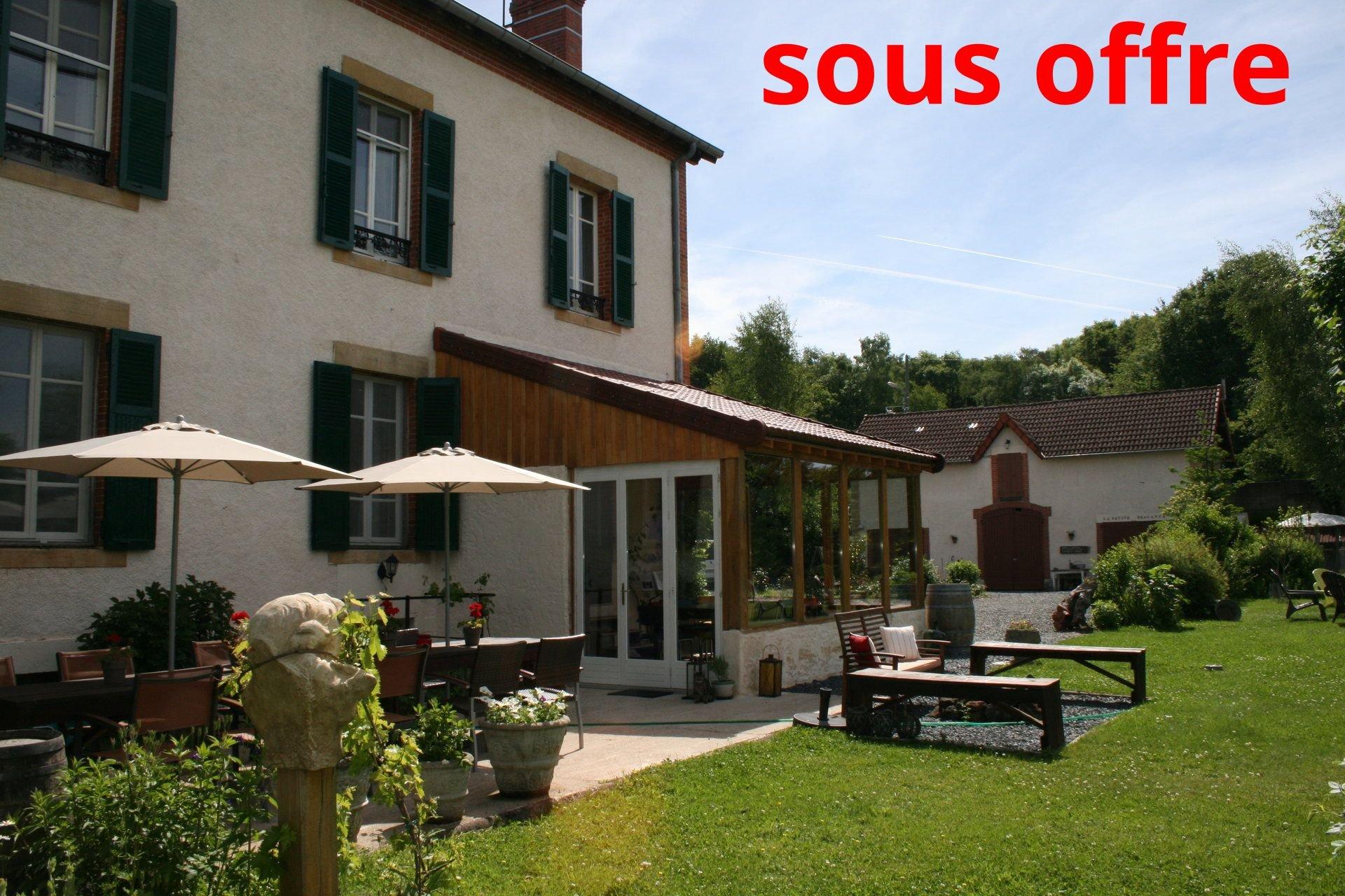 Maison de Maître à vendre en Sud-Bourgogne (71)