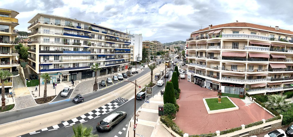 Exceptionell 4:a med terrass och garage - Cannes
