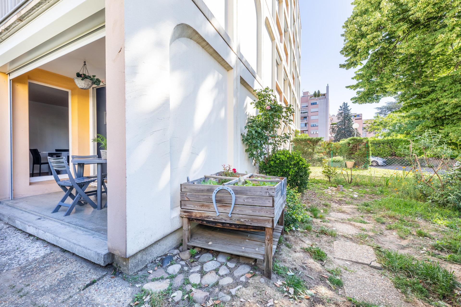 T3 avec terrasse et jardin