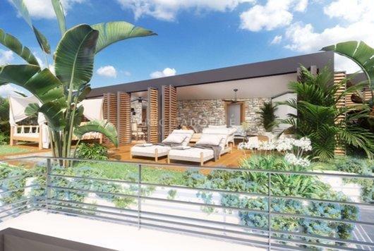 Rénovation de luxe - 17 appartements du studio au 3 pièces - Villas sur le toit - Parkings en sous-sol