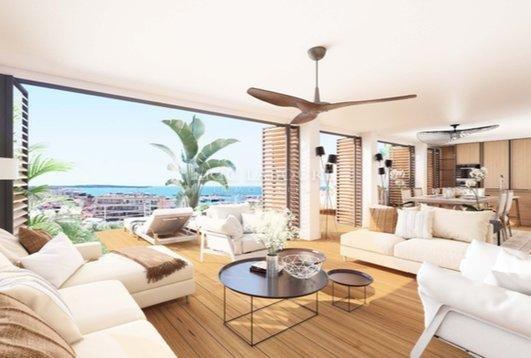 Réhabilitation de luxe - 17 appartements - 4 villas sur le toit