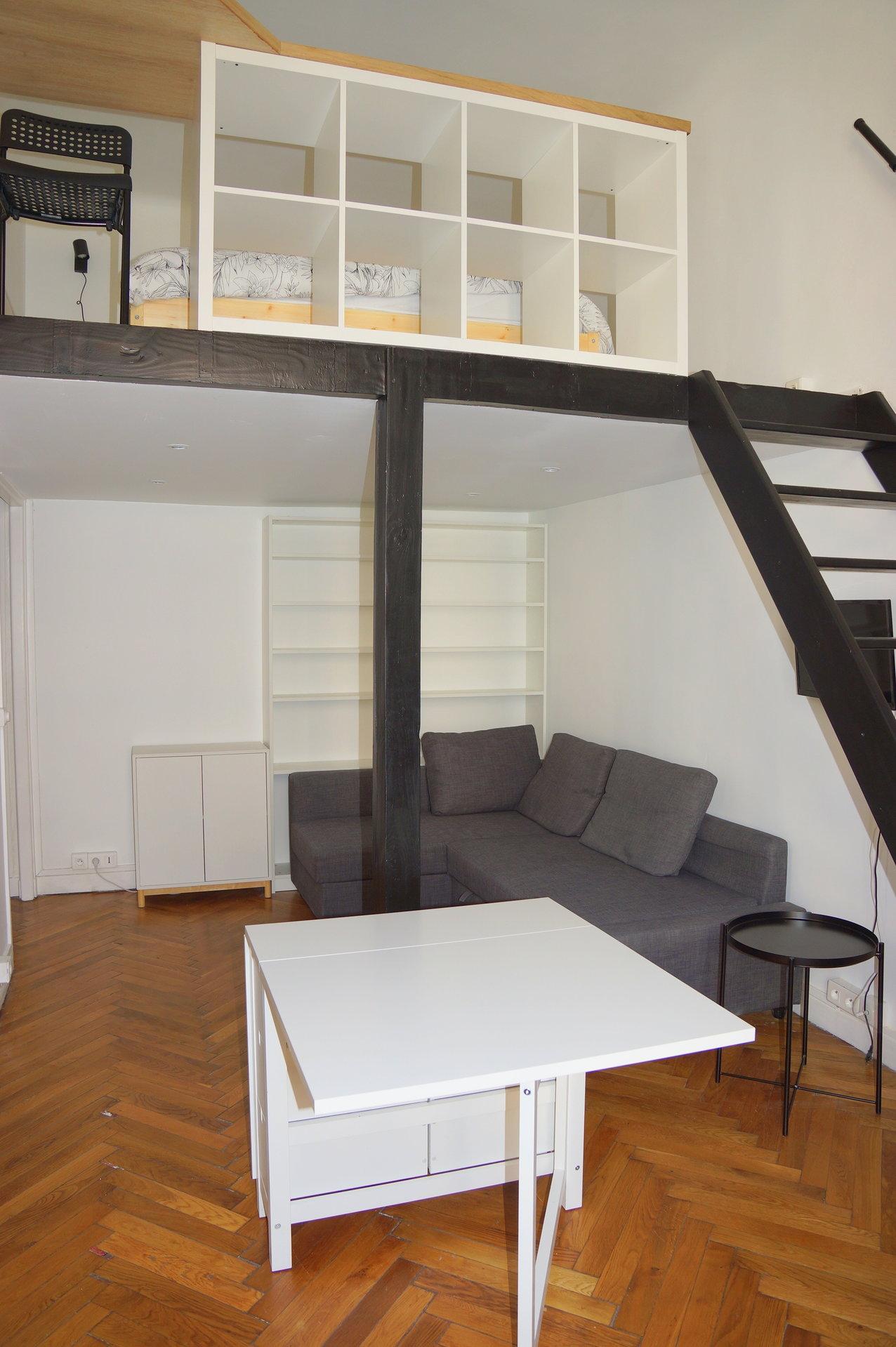 Studio + Mezzanine - Centre Ville