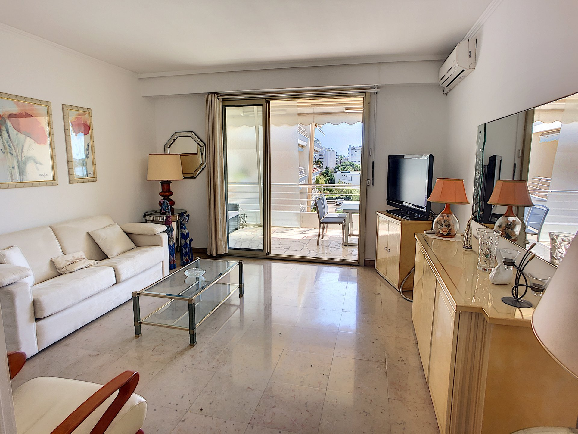 CANNES Pointe Croisette 2p with double terrace sea view