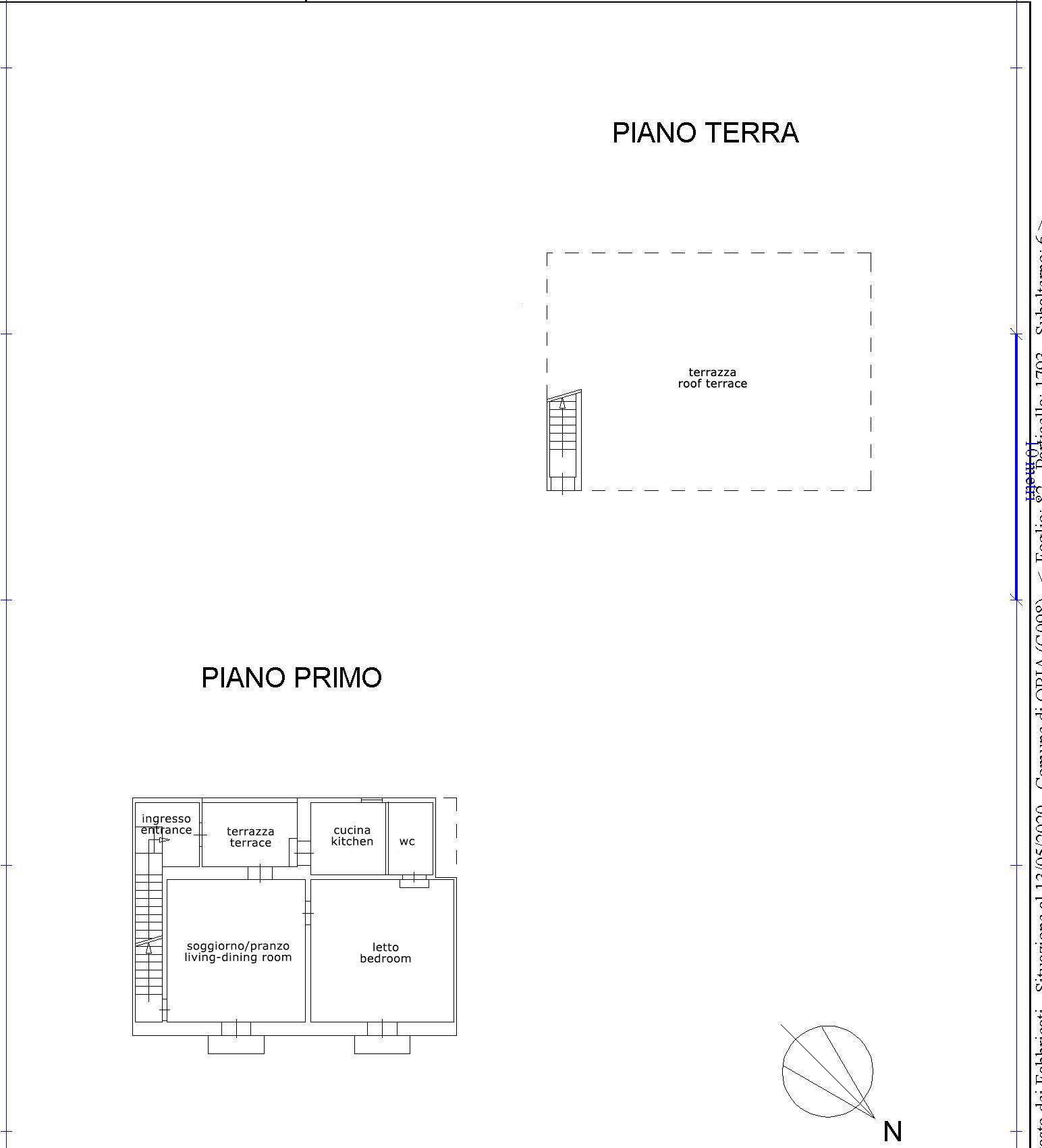 1 Schlafzimmer Wohnung, komplett renoviert, Dachterrasse