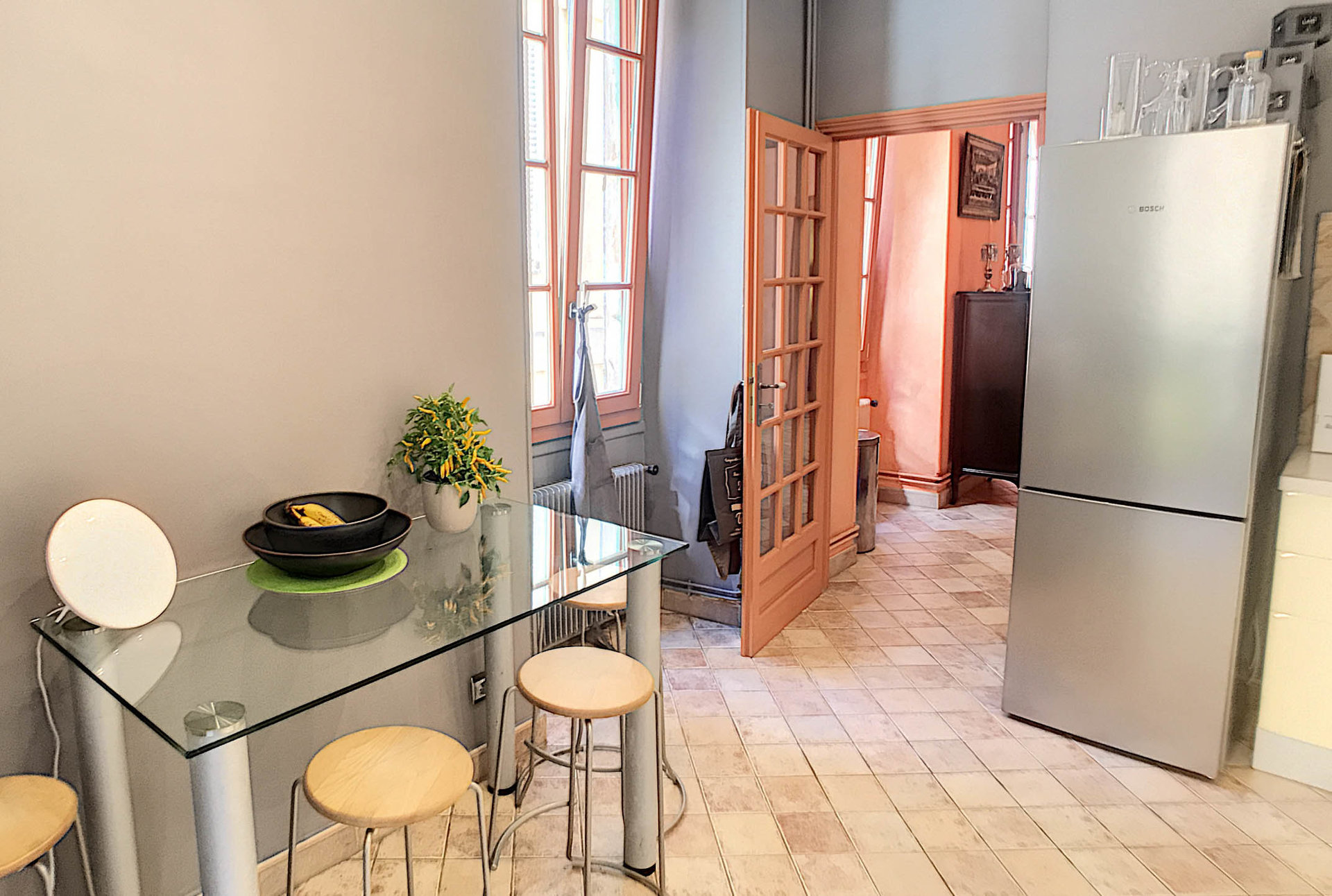SALE Apartment 3 Rooms 91m² NICE Old Town Balcony Sublime Cellar
