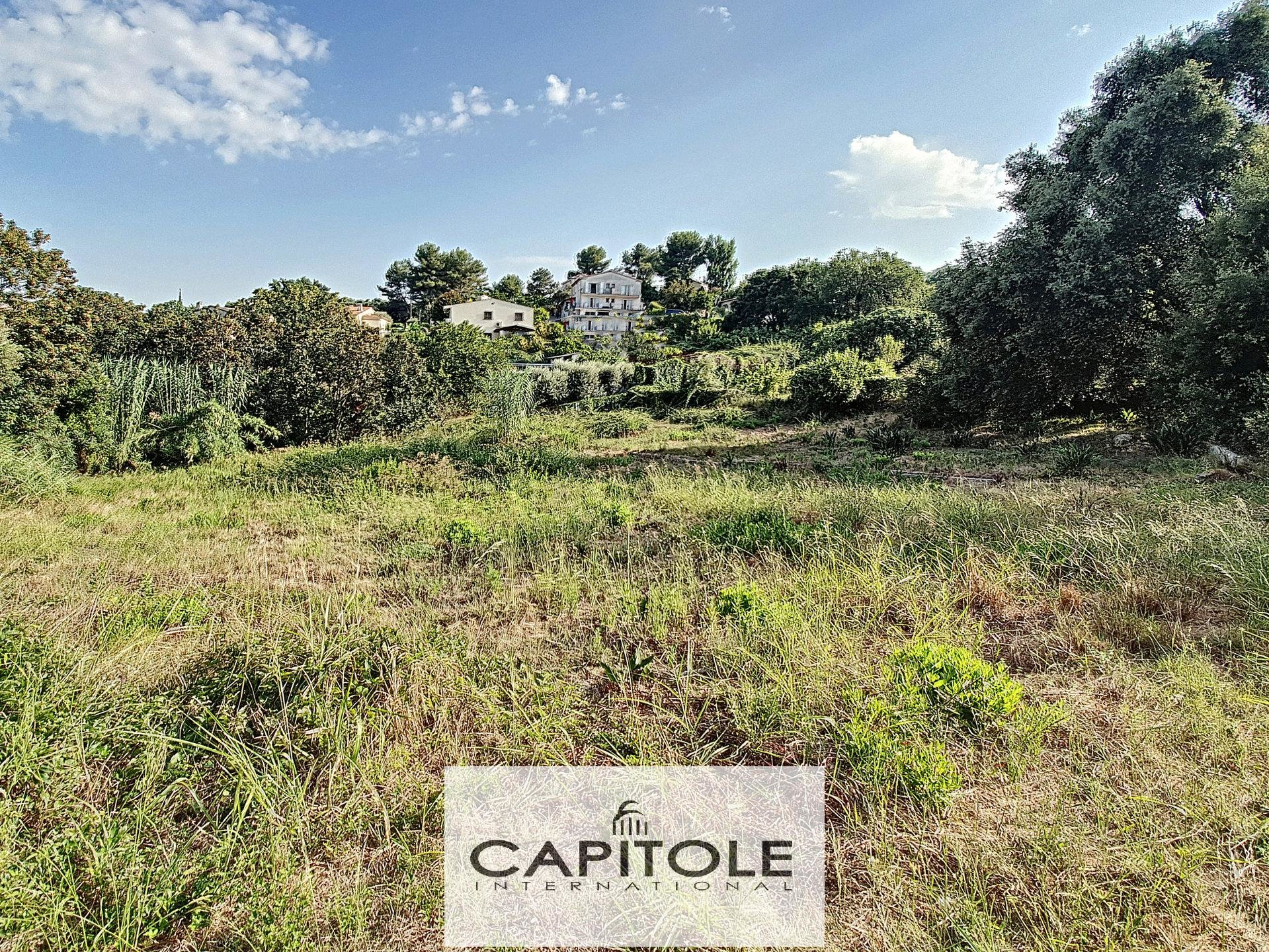ANTIBES - LAND FOR SALE OF 1519M²ANTIBES. TERRAIN A VENDRE DE 1519M²