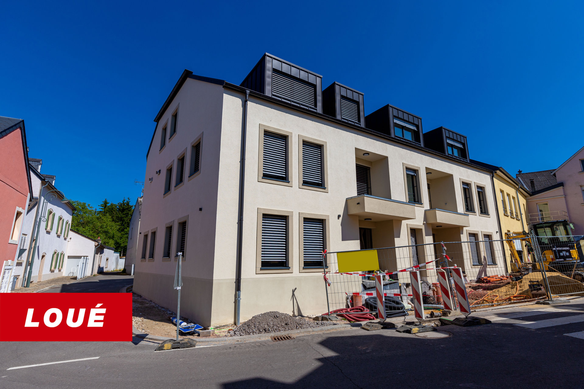 RENTED - Apartment with 1 bedroom in Berbourg