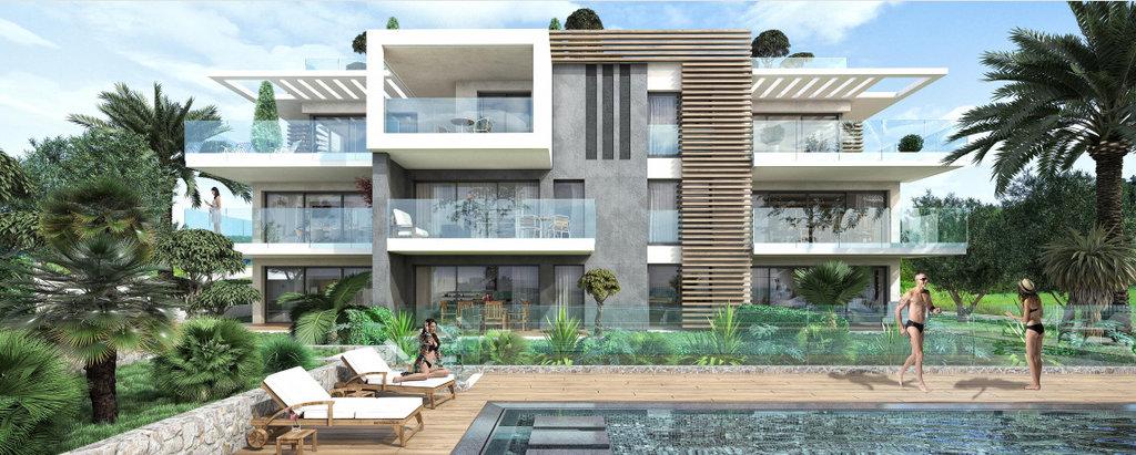 Nouvelle résidence sur les collines d'Antibes