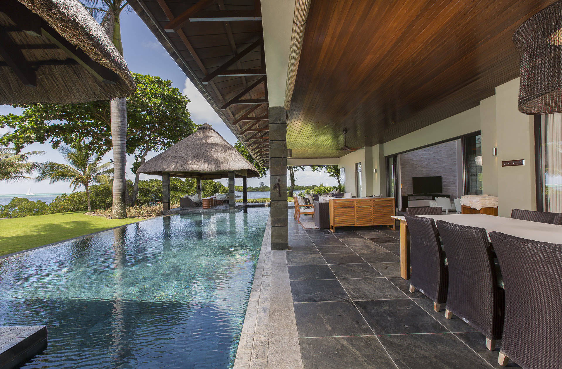 IRS Villa for sale on the east coast of Mauritius