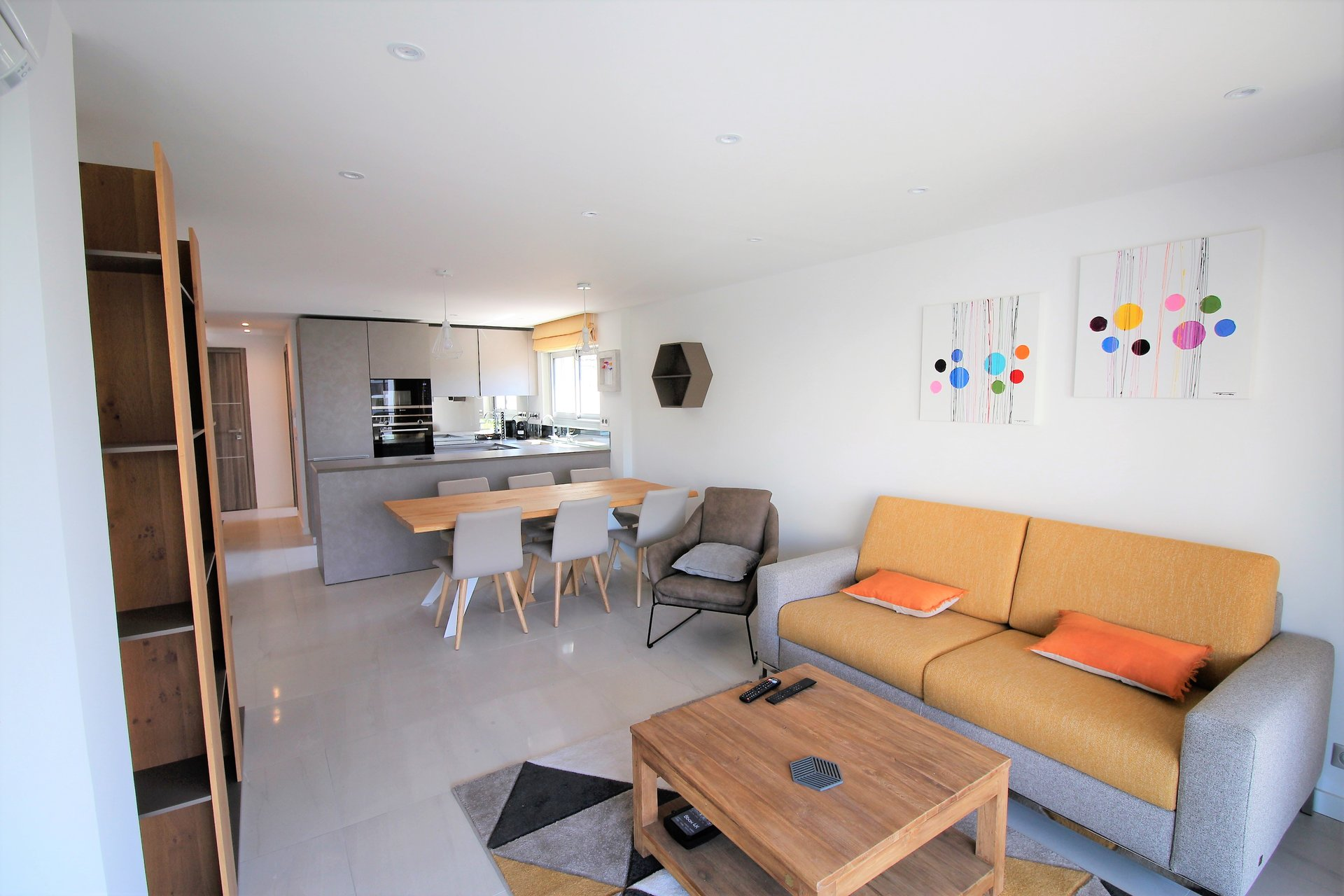 Cannes, Banane, 3 bedrooms, terrace, parking