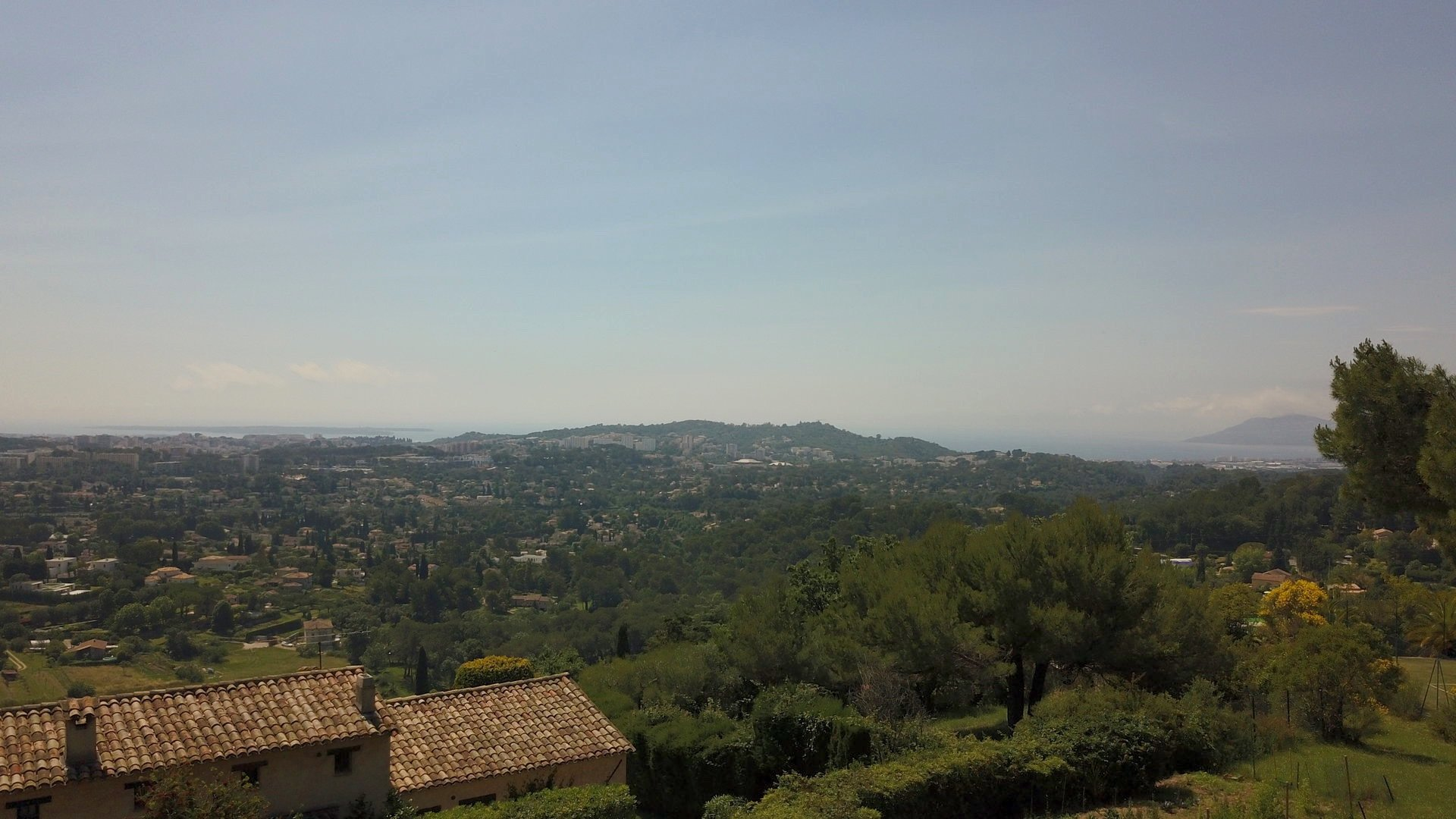 Mougins, panoramic view